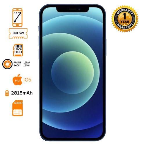 iPhone 12 - 128GB - 4GB - Blue