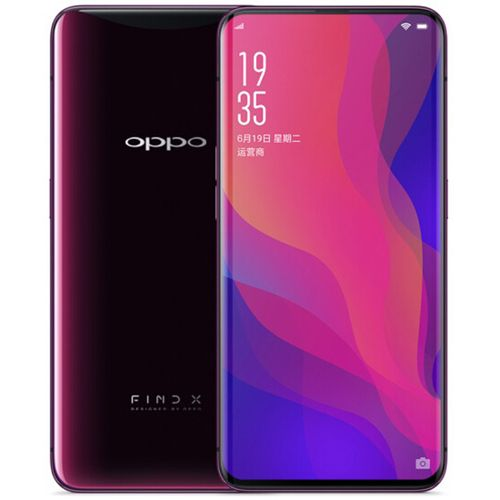 Oppo Find X 6.4 Inch Face Recognition VOOC QC 8GB RAM 256GB ROM Snapdragon 845 2.8GHz 4G Smartphone UK