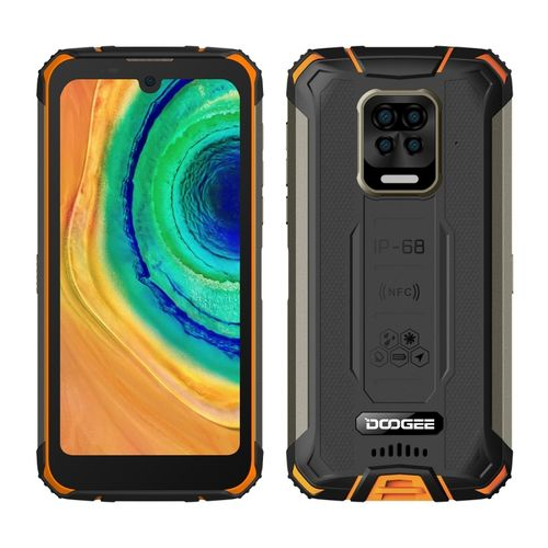 S59, 4GB+64GB, Quad Back Cameras,10050mAh Battery, 5.71 Inch Android 10 Smartphone - Orange
