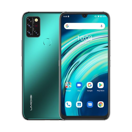 A9 Pro, 6GB+128GB, 6.3 Inch Android 10, 4G Smartphone - Green