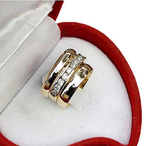 Buy White Label 3set Of Wedding Ring Gold Online Jumia