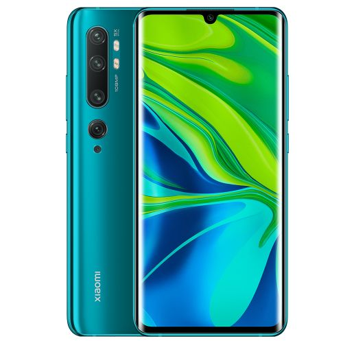 Mi Note 10 (CC9 Pro) 108MP Penta Camera Phone 6.47 inch 4G Phablet Global Version with 6GB RAM 128GB ROM 5260mAh Battery Fast Charging EU - Green