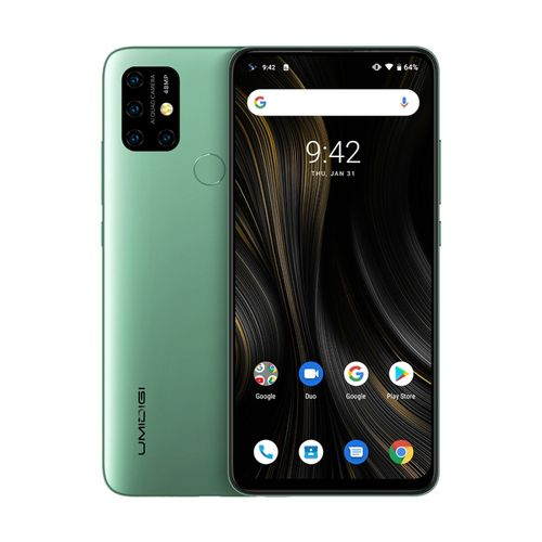 Power 3, 4GB+64GB, 6.53 Inch Android 10, 6150mAh Battery, 4G Smartphone - Green