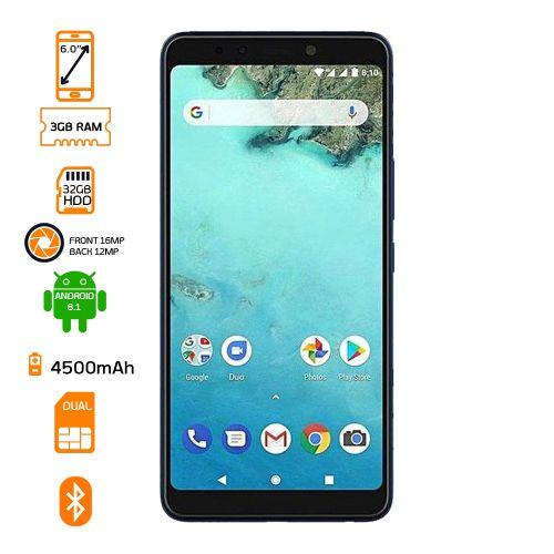 X604 Note 5 Dual SIM Smartphone - 32GB HDD - 3GB RAM - BlueFS
