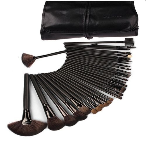 Makeup Brush Set - 24 Pieces + FREE Eye Stencil