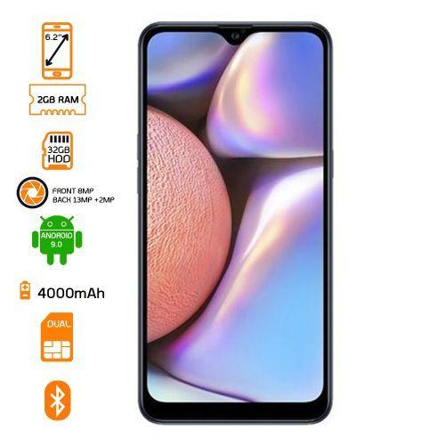 SM-A107F Galaxy A10s Dual SIM - 32GB HDD - 2GB RAM - Blue
