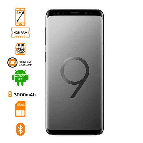 product_image_name-Samsung-Galaxy S9 5.8 Inch (Single SIM) - Black-1