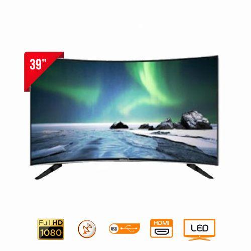 "BTC-39HDDNP Curved Digital Satellite TV - 39"" Black"