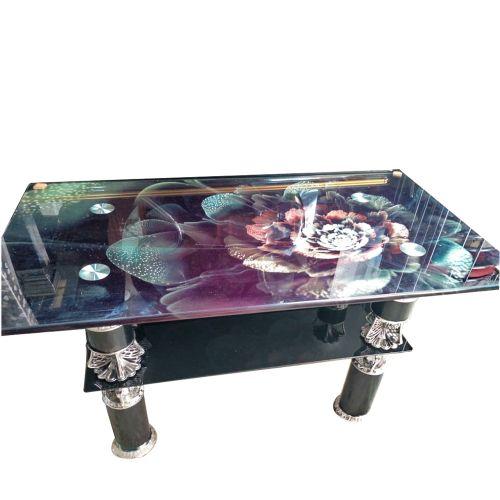 Shop Generic Rectangular Tempered Glass Living Room Center Table