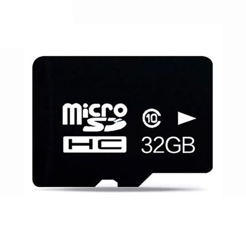 Micro SD Memory Card - 32GB - Black