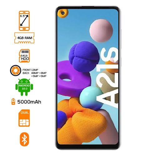 Galaxy A21S DUAL SIM - 64GB HDD - 4GB RAM Smartphone - Black