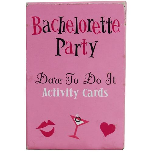Bachelorette Party Dare To Do It Card Game