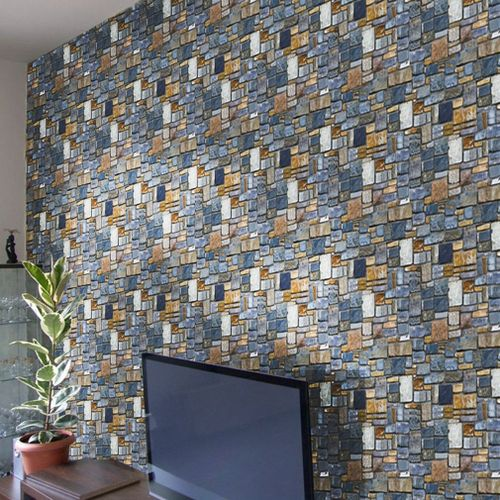 Shop Generic Modern Brick Stone Wall Sticker Removable Pvc Living Room Decals Wallpaper Online Jumia Ghana