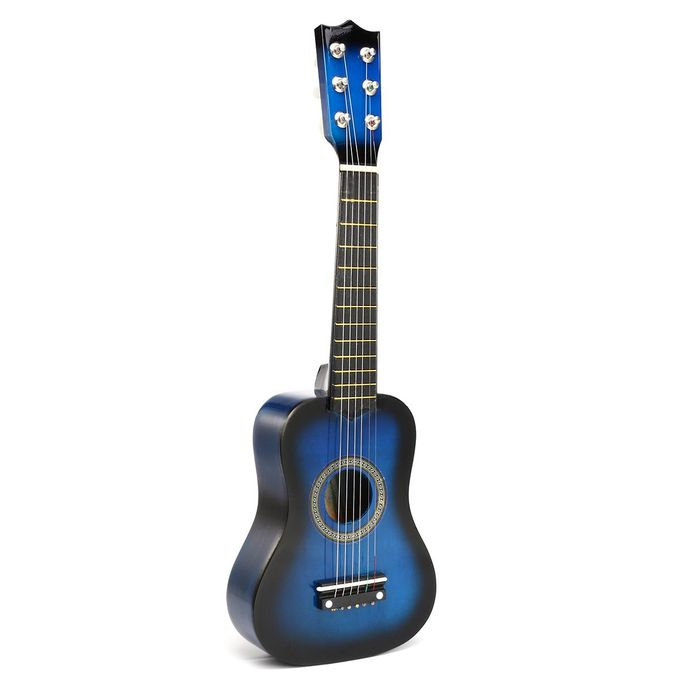 Shop Generic 21inch Children S Wooden Acoustic Guitar Gift Blue Blue Online Jumia Ghana