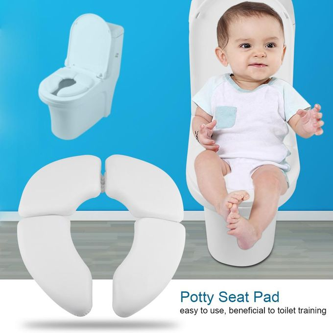 Portable Folding Non Slip Travel Potty Seat Pad Toddler Toilet Safety Cover Cushion Training Seat for Kids Boys /& Girls
