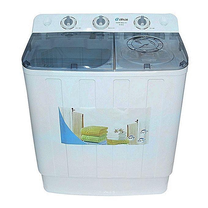 Buy Nakai N88G-TT Twin Tub Washing Machine - 8Kg White ...