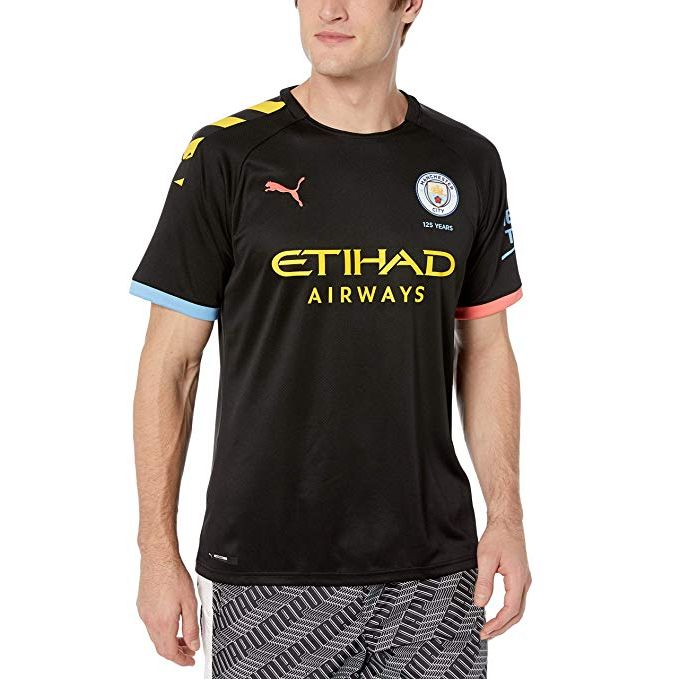 Shop White Label Manchester City Away Jersey 2019/2020 ...