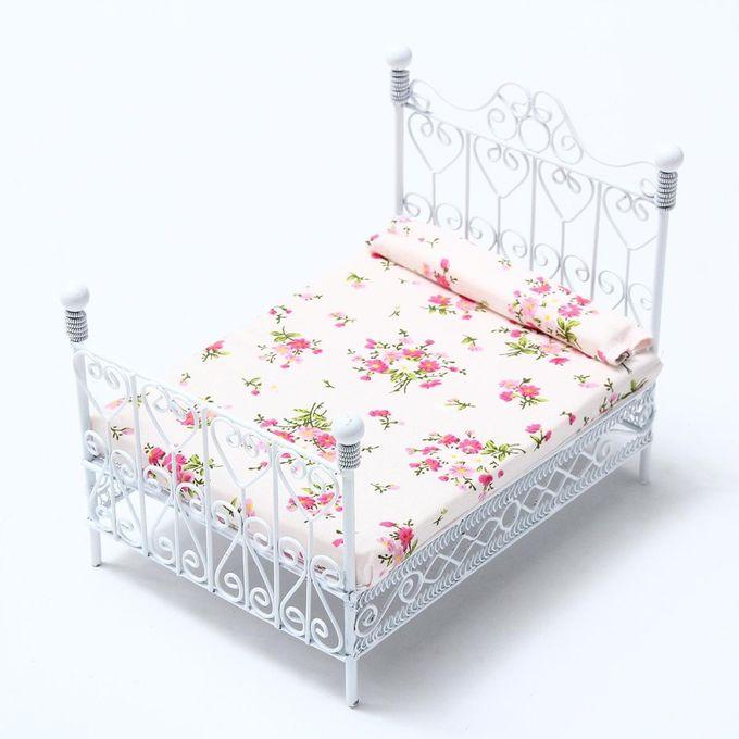Shop Generic 1 12 Dollhouse Miniature Bedroom European Furniture Metal Be Online Jumia Ghana