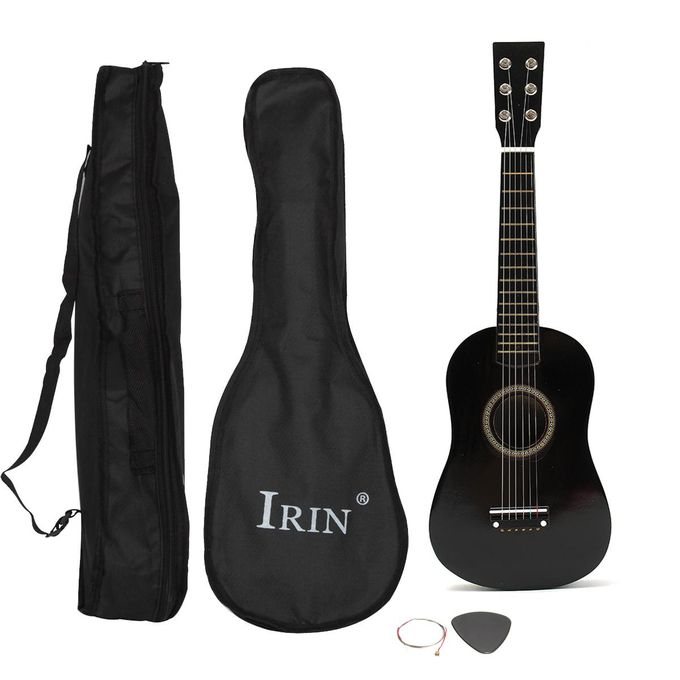 Shop Generic 23 Beginner Practice Acoustic Basswood Guitar 6 St Black Online Jumia Ghana