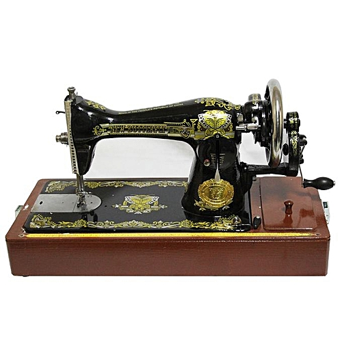 Buy white label sewing machine black best price online for Arts and crafts sewing machine