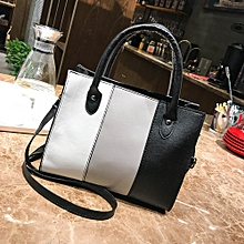 e742a7ce8c2 Xiuxingzi  Woman Tote Casual Bags Crossbody Bag Hit color Leather Handbag  Shoulder Bag